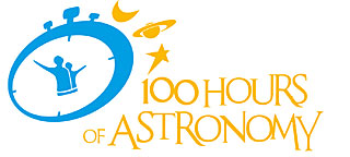 Logo: 100 Hours of Astronomy