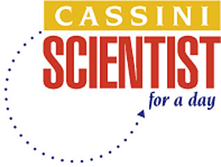 Cassini Scientist for a day logo