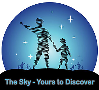 The Sky - yours to discover logo