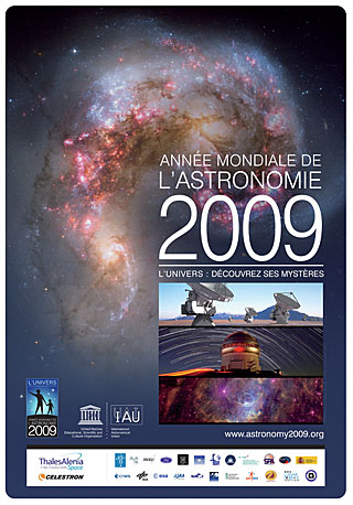 IYA2009 Poster in French